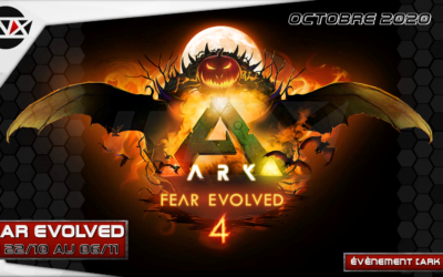 INX [ARK PVE] FEAR EVOLVED 4 – 22/10/2020